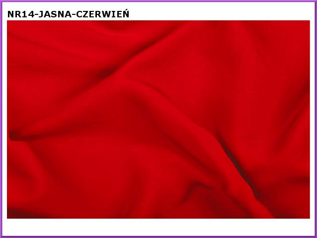 tkanina-14 jasna czerwien