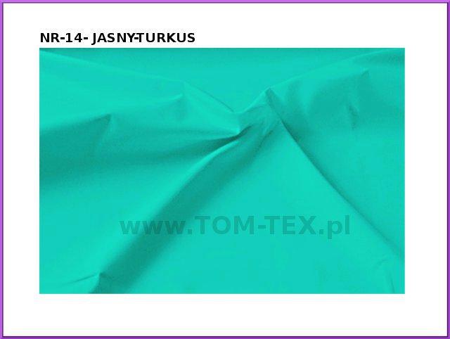 tkanina MEMORY 14-JASNY TURKUS