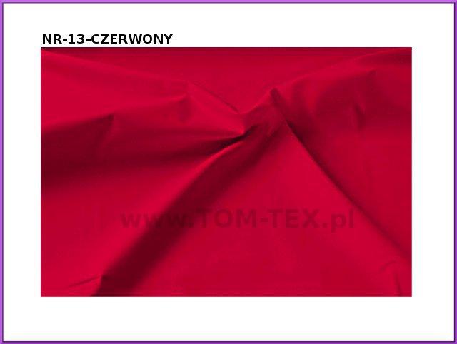 tkanina memory 13 czerwony