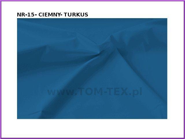 tkanina memory 15 ciemny turkus