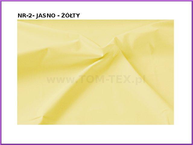 tkanina memory 2 jasno żółty