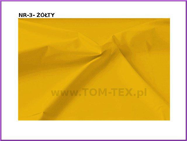 tkanina memory -3 żółty