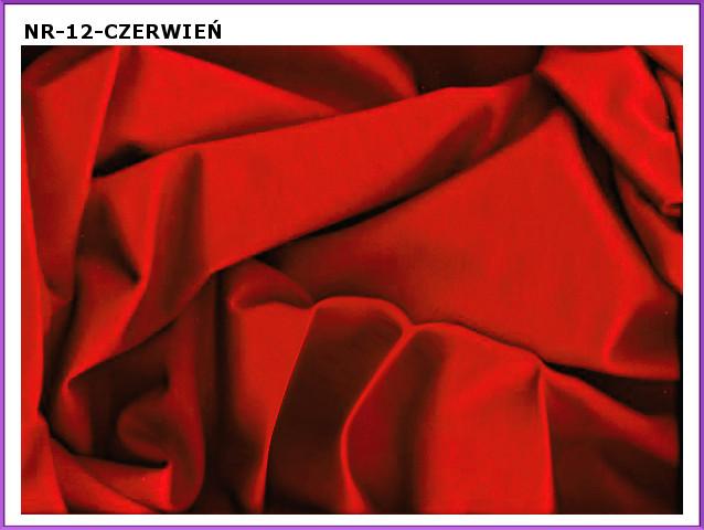 dzianina-13 czerwien