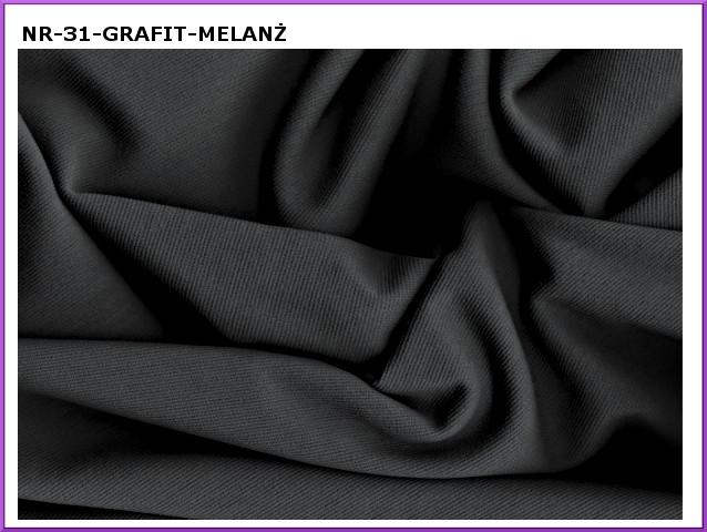 dzianina-31 grafit melanz