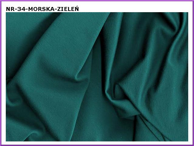 dzianina-34 morska zielen