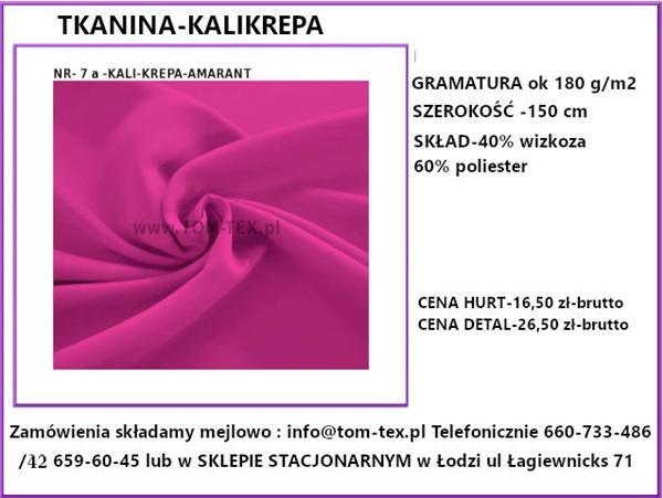 kali krepa 7a amarant (Custom)