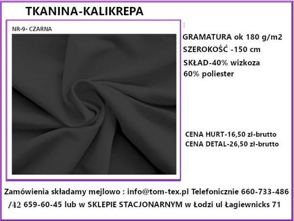 kali krepa 9 czarna (Custom)