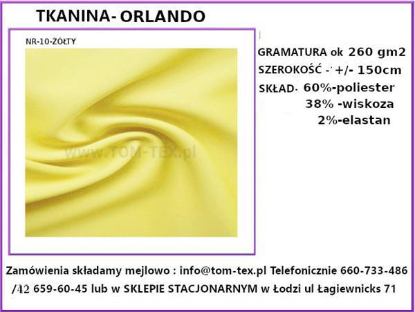 orlando 10 zółty (Custom)